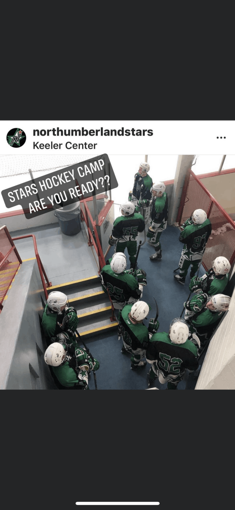 Lace up your Skates…..Stars Camp starts: September 29 – October 3rd
