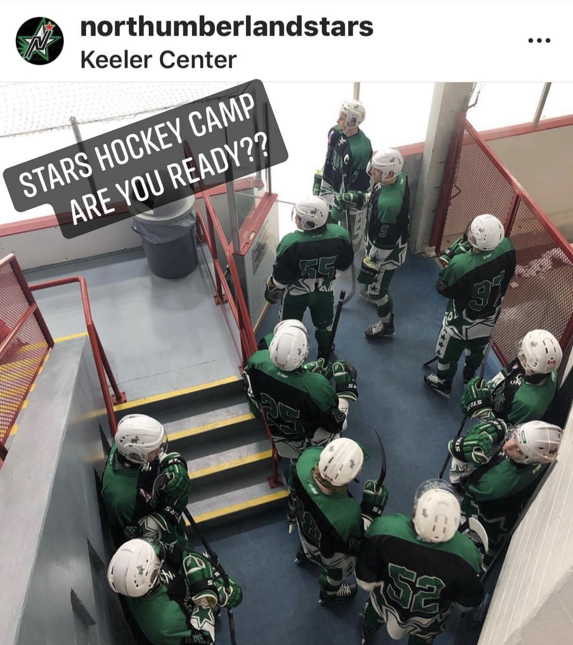 Read more about the article Lace up your Skates…..Stars Camp starts: September 29 – October 3rd